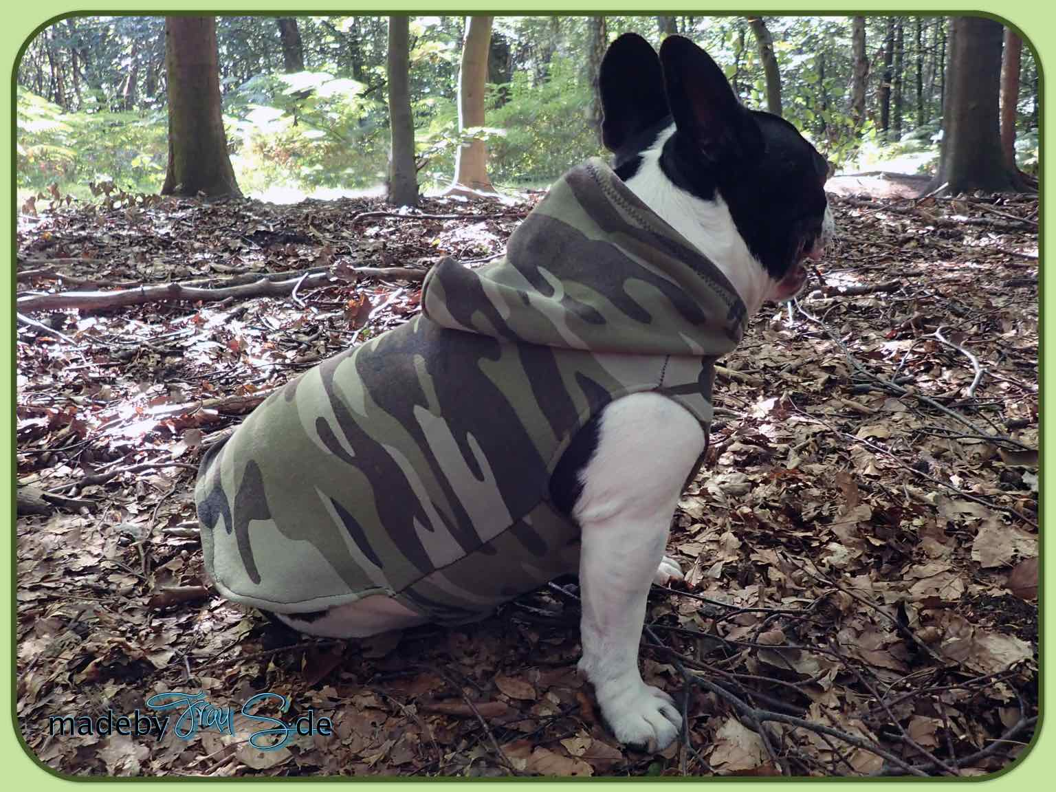 Hundehoodie - made by Frau S.