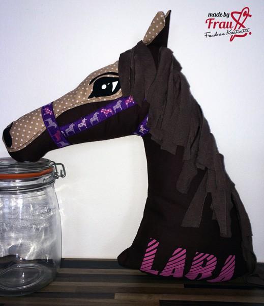 Kissen-Pferd