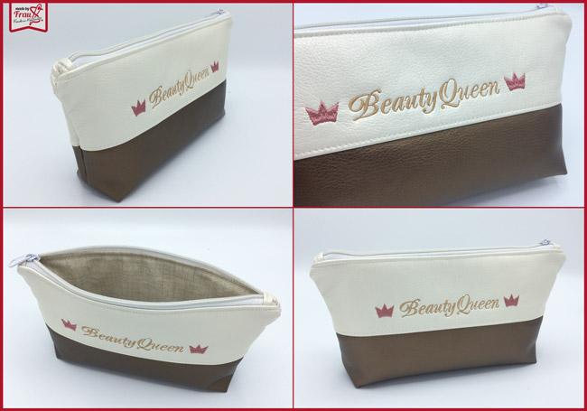 Kosmetiktaschen aus Kunstleder - Beauty Queen