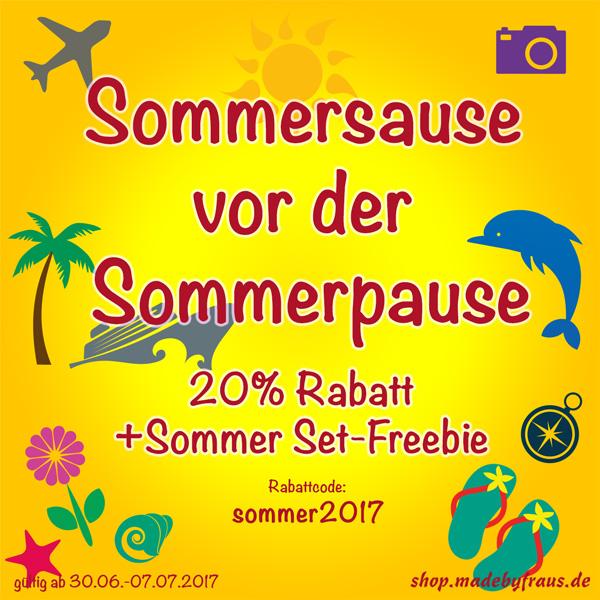 Sommersause vor der Sommerpause