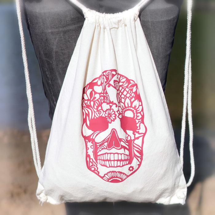 Skull Totenkopf in Mandala Style