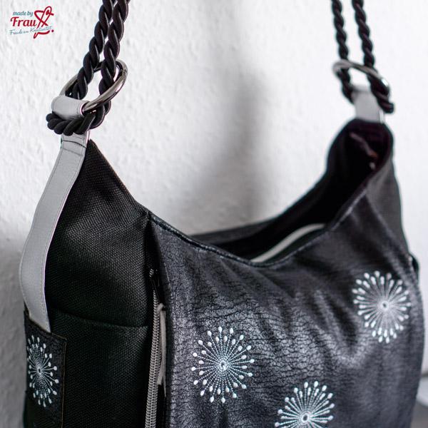 Schultertasche Dany von Machwerk mit vielen Taschen