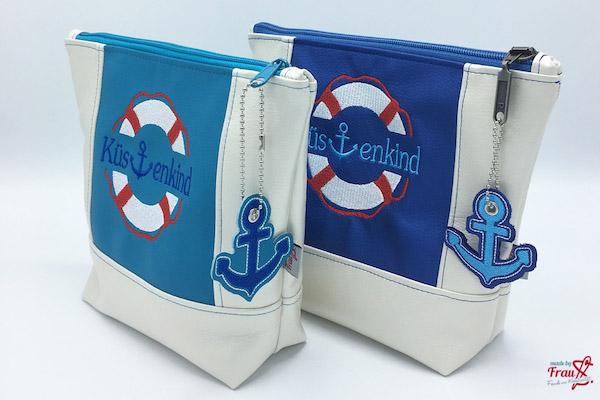Kosmetiktasche BoatBag Mini von Unikati