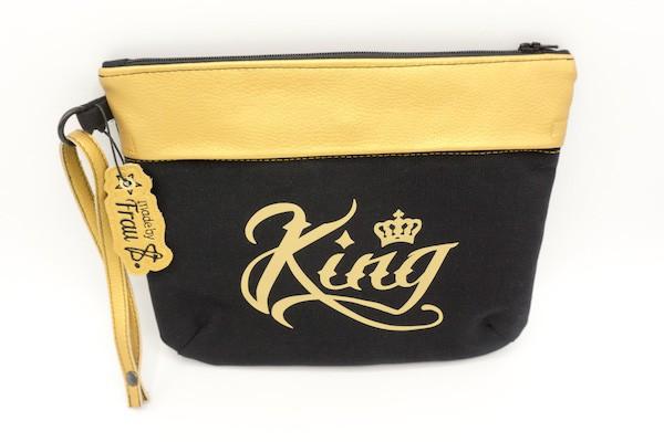Kosmetiktasche für King und Queen